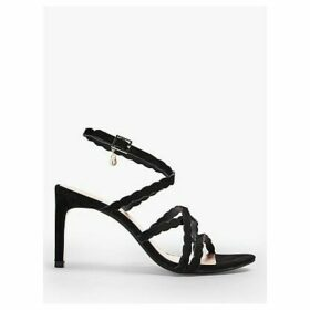 Ted Baker Lillys Scallop Detail Suede Sandals