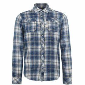 G Star D0214 Shirt SnrC99 - indigo/harvest