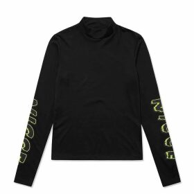 Nicce Venom Long Sleeve T Shirt - Black