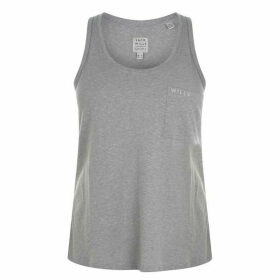 Jack Wills Cassington Pocket Tank Top - Lt Ash Mrl