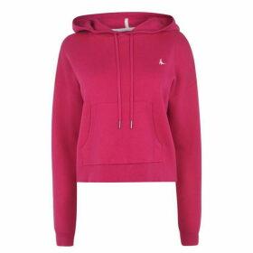 Jack Wills Riley Knit Hoodie Ld02 - Pink