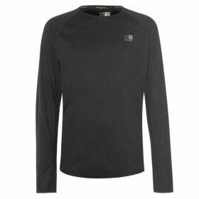 Karrimor Long Sleeved Running T Shirt Mens - Black
