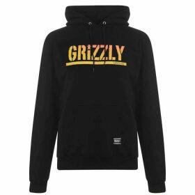 Grizzly Stamp Hoodie - Black