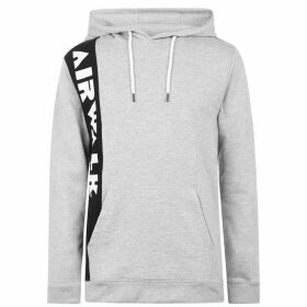 Airwalk Side Logo Hoodie - Grey