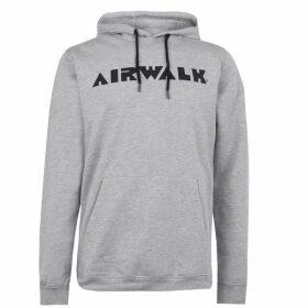 Airwalk Logo OTH Hoodie Mens - Grey