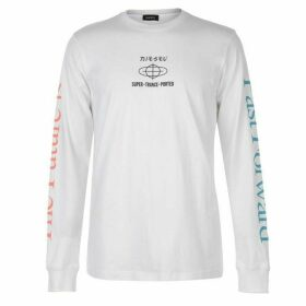 Diesel STP Long Sleeve T Shirt - White