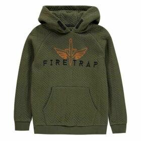 Firetrap OTH Hood JnB03 - Khaki Chevron