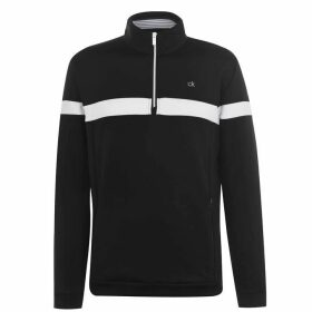 Calvin Klein Golf CK Scale HZ Top Snr 02 - Black
