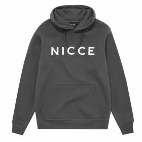 Nicce Logo Hoodie - Grey