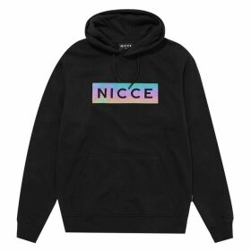 Nicce Iridescent OTH Hoodie - Black