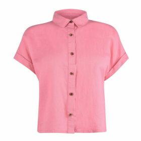 Jack Wills Tyning Short Sleeve Shirt - Pink