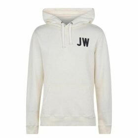Jack Wills Wildshaw Graphic Hoodie - White