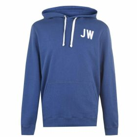 Jack Wills Wildshaw Graphic Hoodie - Deep Blue