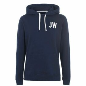 Jack Wills Wildshaw Graphic Hoodie - Navy