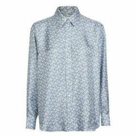 Burberry Logo Long Sleeve Shirt