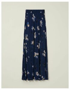 Fat Face Selena Water Floral Maxi Skirt