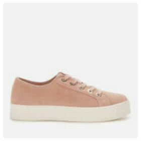 Superdry Women's Flatform Sleek Trainers - Soft Pink - UK 7