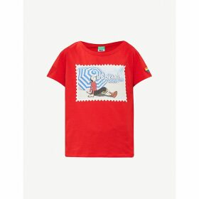 Benetton x Popeye printed cotton-jersey T-shirt