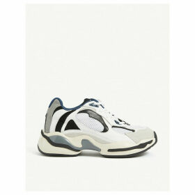 Futura leather and mesh technical trainers
