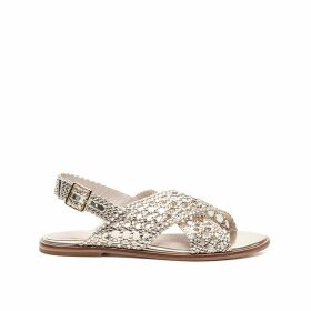 Hessi/Met Leather Sandals