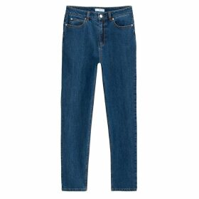 Cropped Mom Jeans, Length 28