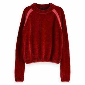 Fine Knit Crew-Neck Jumper