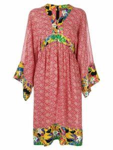 Duro Olowu Vintage 2000 floral print tunic dress - Multicolour