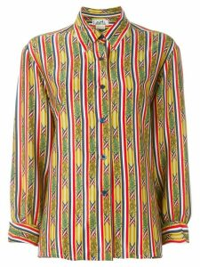 Hermès pre-owned bamboo print shirt - Multicolour
