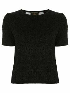 Fendi Pre-Owned short sleeve top - Black