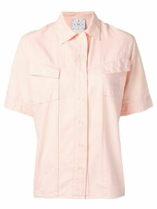 Fendi Pre-Owned 1970's shortsleeved shirt - PINK