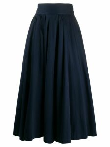 Chanel Pre-Owned 1990s below-the-knee full skirt - Blue