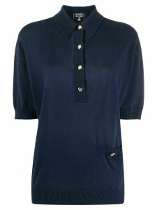 Chanel Pre-Owned 1990s relaxed polo shirt - Blue