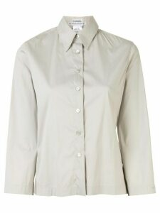 Chanel Pre-Owned 2000s front opening CC button long sleeve tops shirt