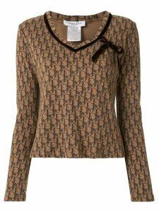 Christian Dior Trotter print T-shirt - Brown
