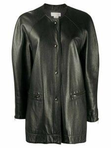 A.N.G.E.L.O. Vintage Cult 1980s leather coat - Black