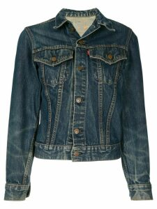 Fake Alpha Vintage 1970s button-up denim jacket - Blue