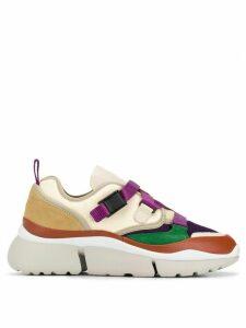 Chloé multicoloured sneakers - NEUTRALS