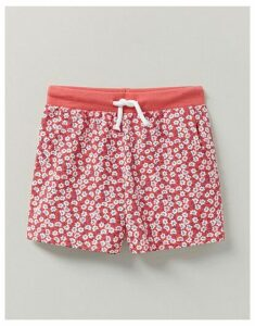 Crew Clothing Floral Jersey Shorts