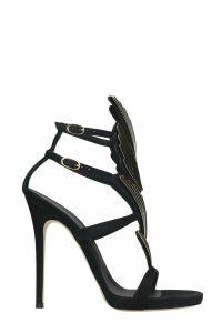 Giuseppe Zanotti 2.0 Cruel Sandals In Black Suede