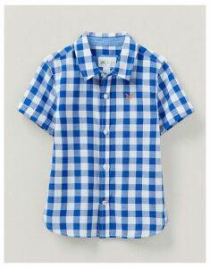Crew Clothing Short Sleeve Check Shirt
