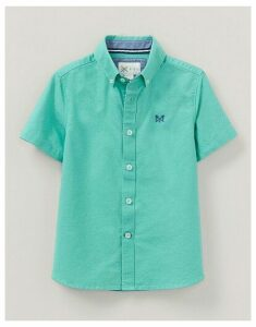 Crew Clothing Short Sleeve Oxford Shirt