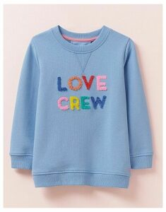 Crew Clothing Crew Neck Love Crew Sweatshirt