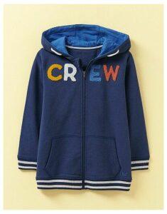 Crew Clothing Zip Through Crew Boucle Hoody