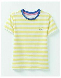 Crew Clothing Short Sleeve Crew Neck Breton Stripe T-Shirt