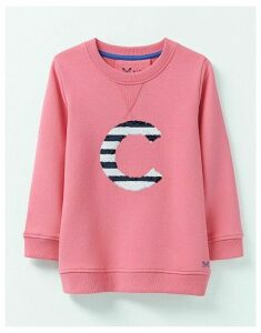 Crew Clothing Crew Neck Sequin C Sweatshirt