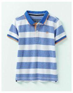 Crew Clothing Pique Oxford Stripe Polo Shirt