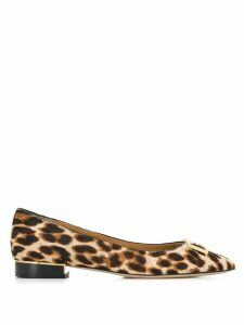 Tory Burch Gigi ballerina shoes - Brown