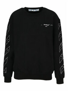 Off White Puzzle Arrows Printed Sweatshirt