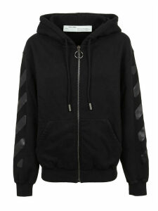 Off-White Diag Over Hoodie Zipped