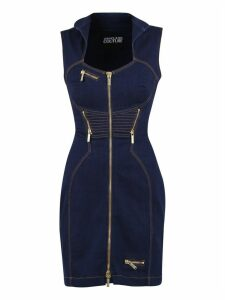 Versace Jeans Couture Zipped Dress